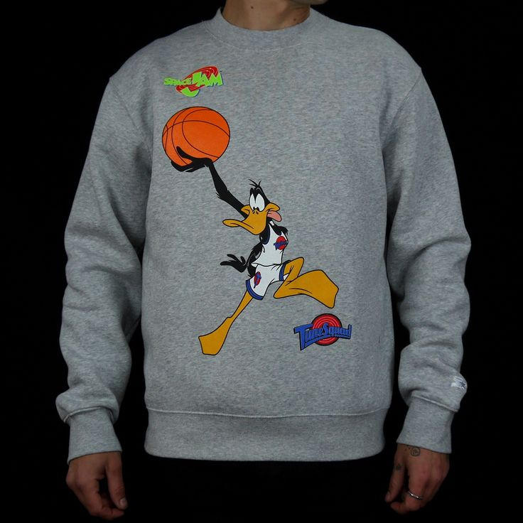 STARTER x SPACE JAM DUNK DUFFY CREWNECK | Ministry Of Concrete