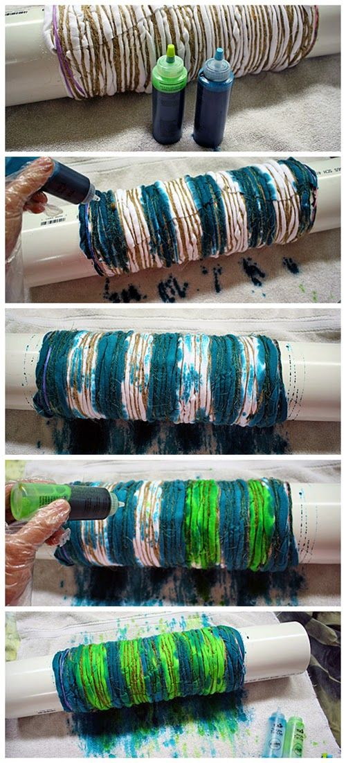 AWesome Tie Die Technique!