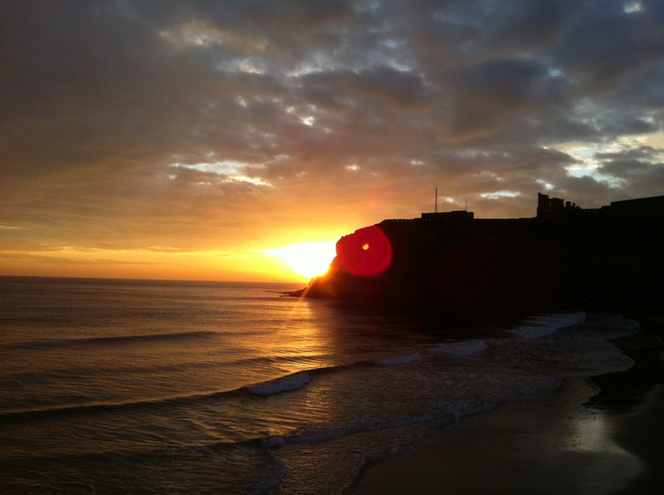 Sun rise king Edwards bay tynemouth Tyne and Wear 7.41 am 20 th oct 2012 www.tynemputhwebcam.com