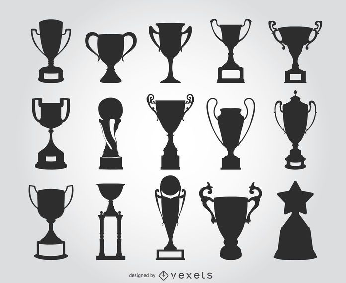 15 Trophy Silhouettes Ad Ad Sponsored Silhouettes Trophy In 2020 Silhouette Vinyl Cool Symbols Trophy