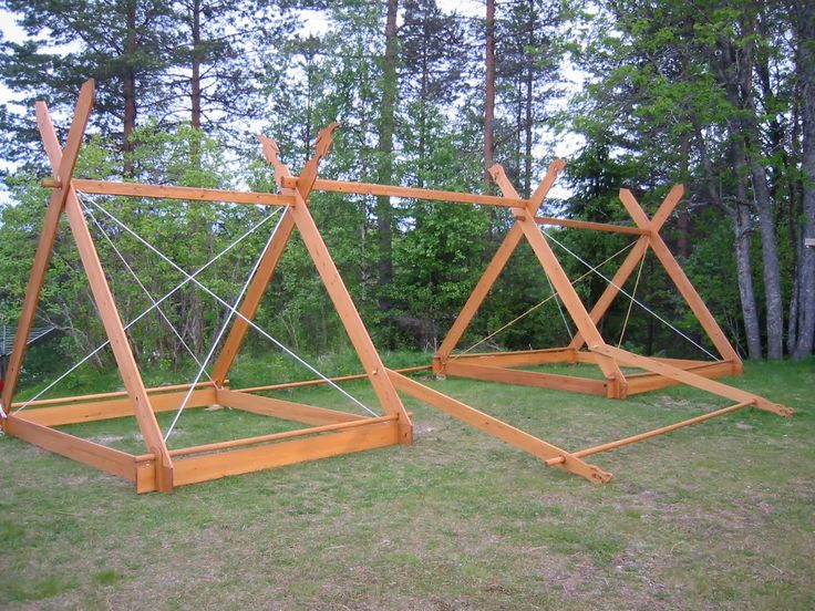 25 best ideas about viking tent on pinterest viking for Homemade wall tent frame