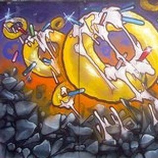 #gonuts crew in 2012 Que (deam) + Rasta  #graffiti #throwback #gonuts #deeeam #wallporn #spraypaint #sprayart