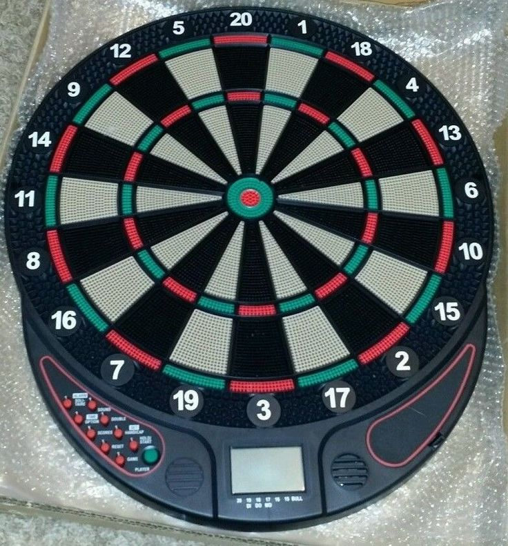 Electronic Dart Board Set New In Box Brand: SMARTNESS