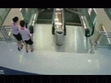 DISTURBING: Woman Dies After Being 'Swallowed' By Escalator in China