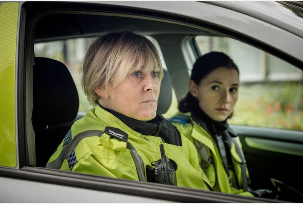 Happy Valley Series 2.  Sarah Lancashire James Norton and Katherine Kelly. TV at its very best.