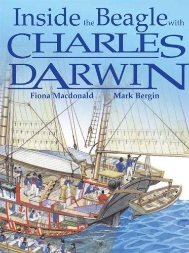 Inside the Beagle with Charles Darwin by Fiona Macdonald
