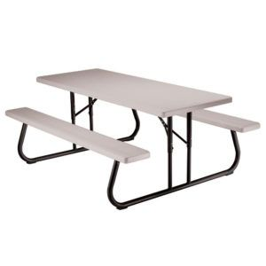 Lifetime Folding Plastic Picnic Table