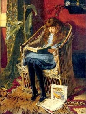 Reading and Art: October 2013 / Mary Louise Gow, 1880