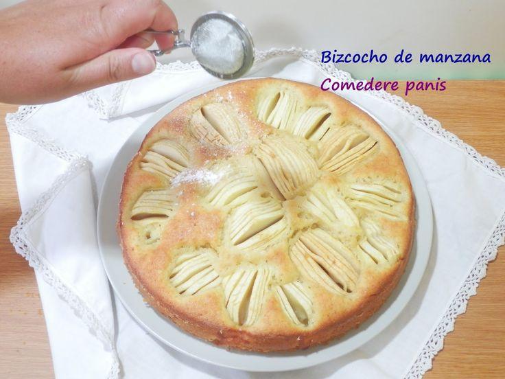 Comedere panis: Bizcocho de manzana