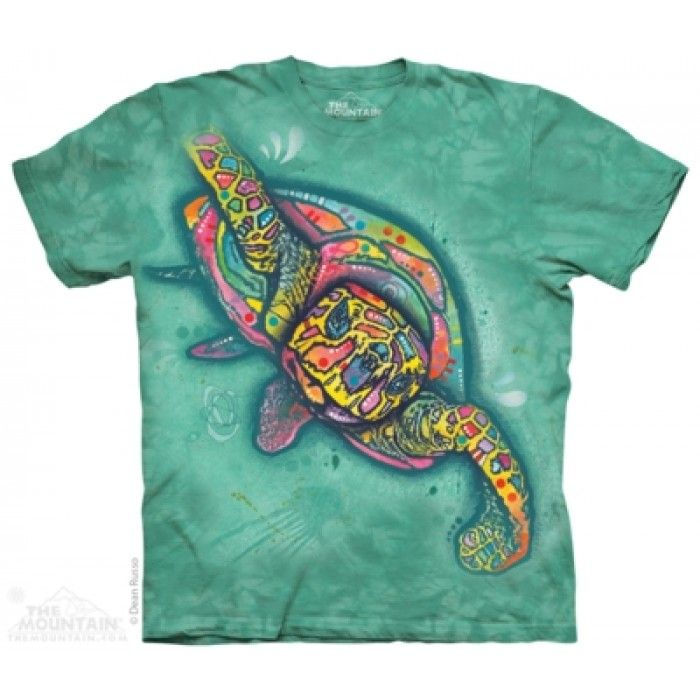 Tricouri The Mountain – Tricou Russo Turtle