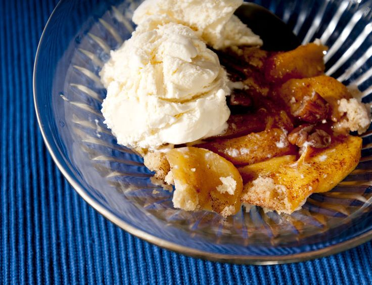 cobbler. Click through for a recipe for peach cobbler with roasted ...
