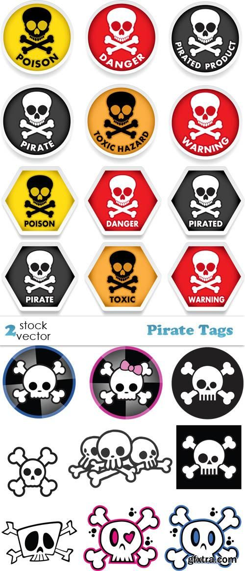 Vectors - Pirate Tags