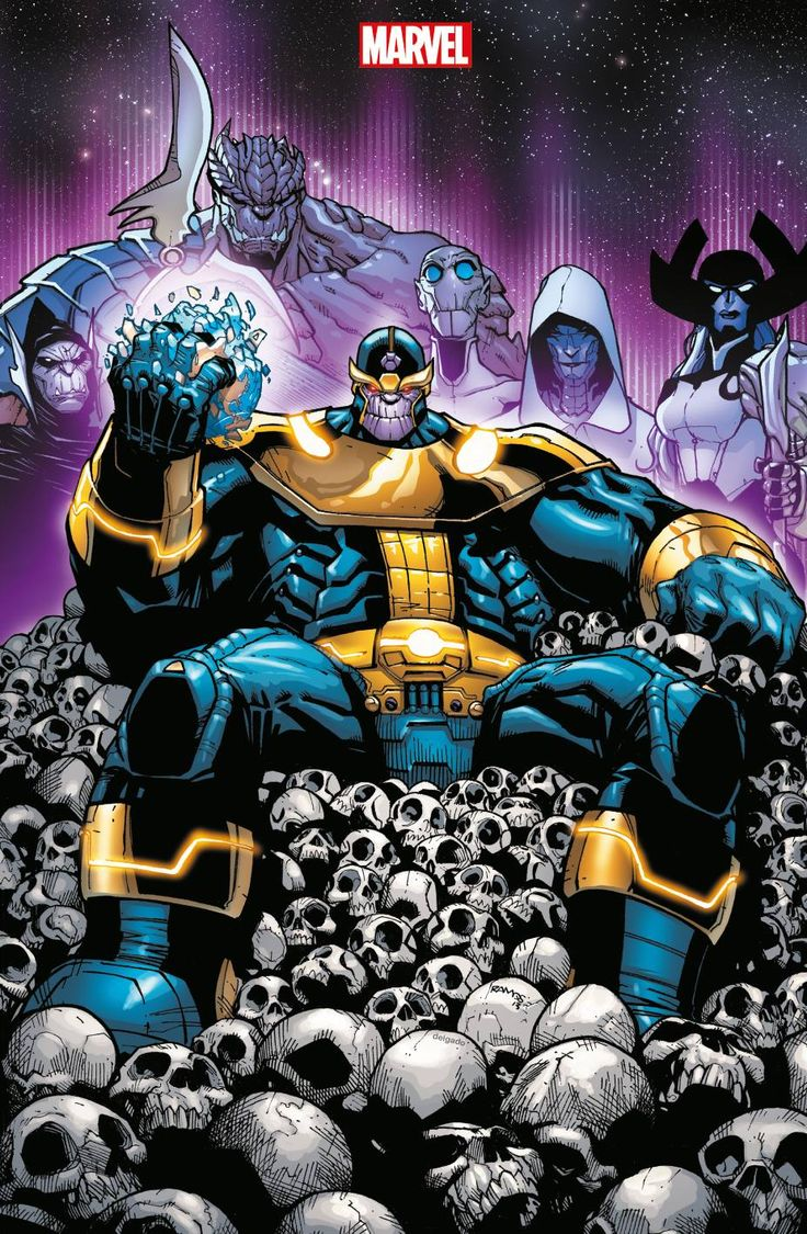 Thanos by Jim Cheung! (Marvel comics)