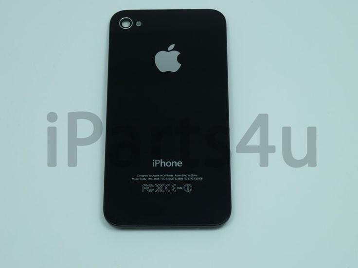 Backcover Origineel iPhone 4 zwart