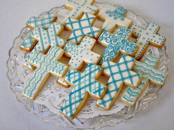 Cruz galletas para bautizo primera comunión y toda ocasión