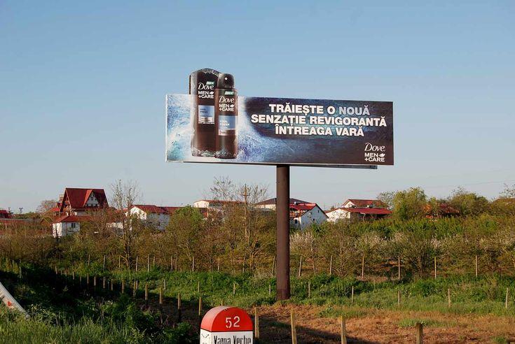 Publicitate outdoor pe Litoral Vama Veche