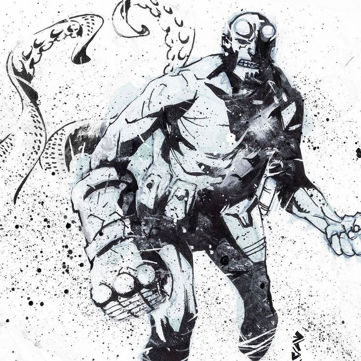 regram @erol_lorenzo_mack2 Sketch of the day....#sketch  #comics #BPRD #hellboy #bureauforparanormalresearchanddefense #comicbooks#comicbookillustration #fumetti #fumetto  #draw #inking #comix #illustrations #instaart  #comicart #ink #darkhorse #darkhorsecomics  #paranormal #gouache #thehandofdoom