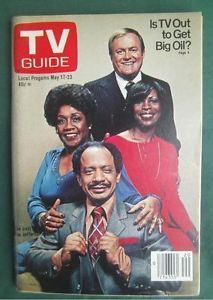 TV Guide cover the cast of The Jeffersons