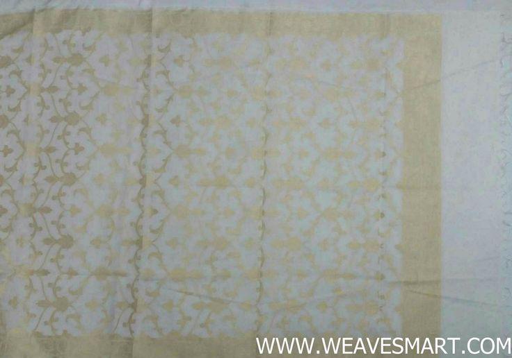 Banaras  mercerised cotton  dupatta  - BNRD0419