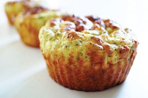 Opskrift på muffins med krydderost