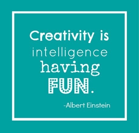 creativity quote  Linda Bauwin - CARD-iologist   Helping you create cards from the heart.  www.stampingwithlinda.com