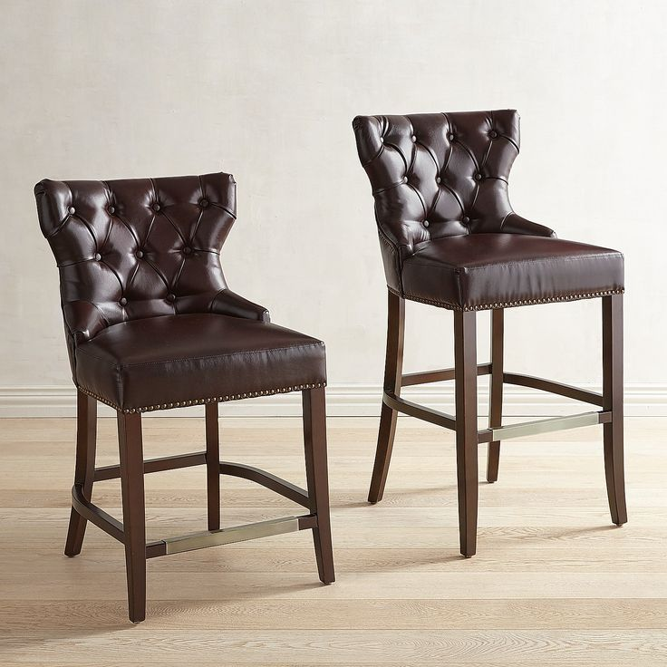 Hourglass Chesterfield Counter Amp Bar Stool Dining Room