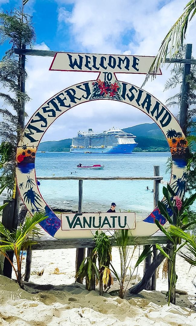"Mystery Island, Vanuatu | This quaint, uninhabited island sits at the southern tip of the Vanuatu archipelago, and is small enough that a sail around takes just 20 minutes. Pro tip: for local shopping, bring Vanuatu cash (known as ""Vatu"") -- credit cards are not accepted on the island."