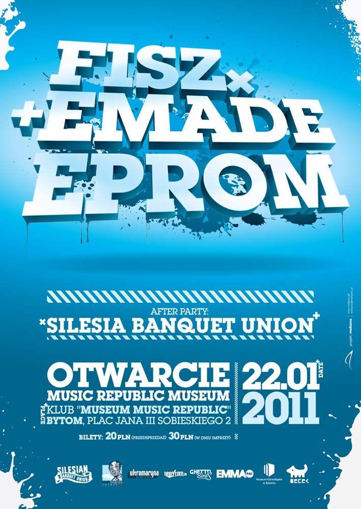 Fisz Emade Eprom Poster