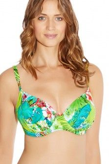 Fantasie Fantasie Antigua Multi Underwired Gathered Full Cup Bikini Top