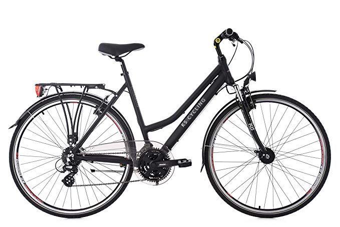 Ks Cycling Damen Trekkingrad Norfolk Alu Rahmen Flachlenker Fahrrad Schwarz 28 Zoll Amazon De Sport Freizeit Gangschaltung Klapprad Trekkingrad Damen