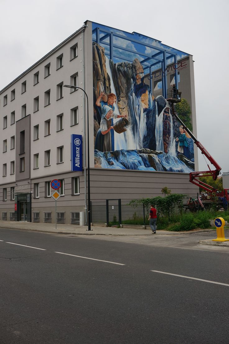 3D Painting  - 3D Mural in Gliwice/PL