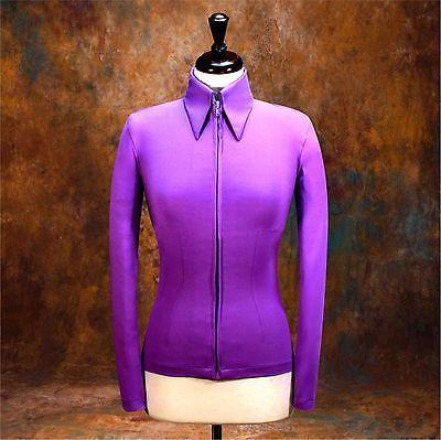 Other Rider Clothing 3167: Medium Showmanship Western Horsemanship Show Jacket Shirt Rodeo, Air-Brush Ready -> BUY IT NOW ONLY: $49.98 on eBay!