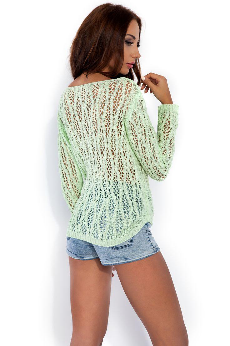 Delikatna bluzka w pastelowych kolorach