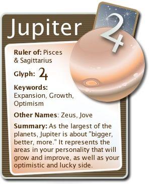 Jupiter - Pisces & Sagittarius