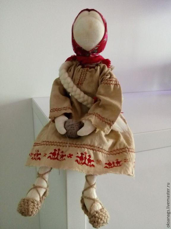 Купить кукла игровая ПОДРУЖКА (по мотивам обережной) - бежевый, кукла ручной работы