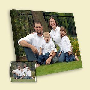 Family Canvas from The Best First Father's Day Gift Ideas — Kathln. From diaper bags to survival guide :)