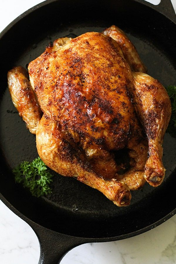 Air Fryer Whole Chicken is an easy and healthy weeknight