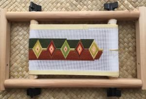Stitch a Bargello Needlepoint Belt with This Free 3-Step Tutorial: Scrapbuster Diamond Bargello Needlepoint Belt
