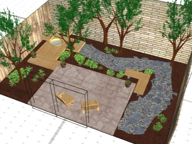 ... Garden Ideas Large Space