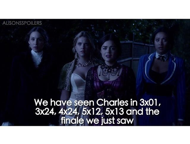 #PrettyLittleLiars Spoiler/ Rumor:    I'm going to re watch these episodes #PLL who's in all of those episodes?!