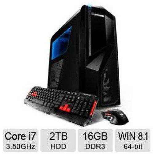 Best iBUYPOWER TD732SLC Gaming Desktop Computer for Cyber Monday deals 2015 at Walmart