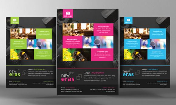 Photography Business Flyer Template by Business Templates on @graphicsmag