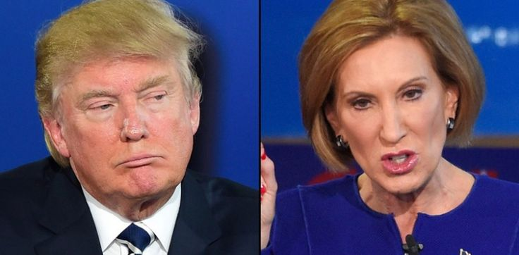 Carly Fiorina jumped up right behind Trump in the polls after the CNN GOP debate, but now he is slamming her with this epic cut down.