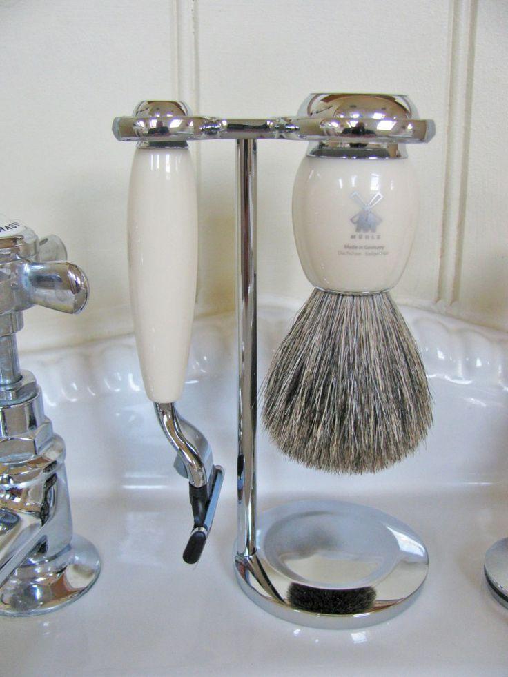Muhle Vivo 3 Part Ivory Shaving Set