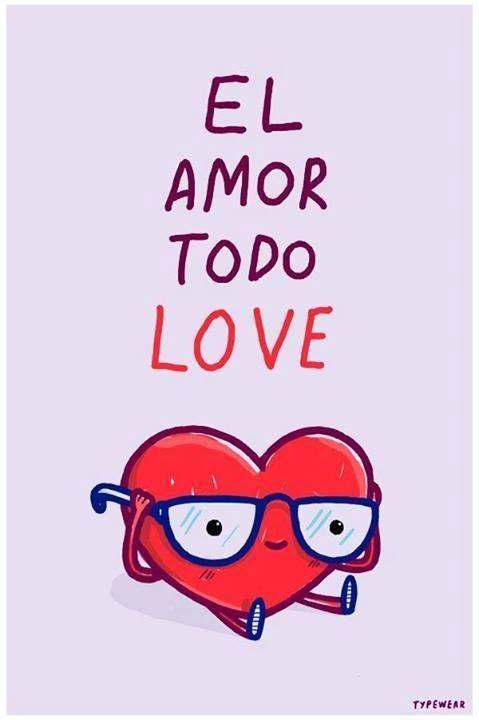 El amor todo love - Happy drawings :)