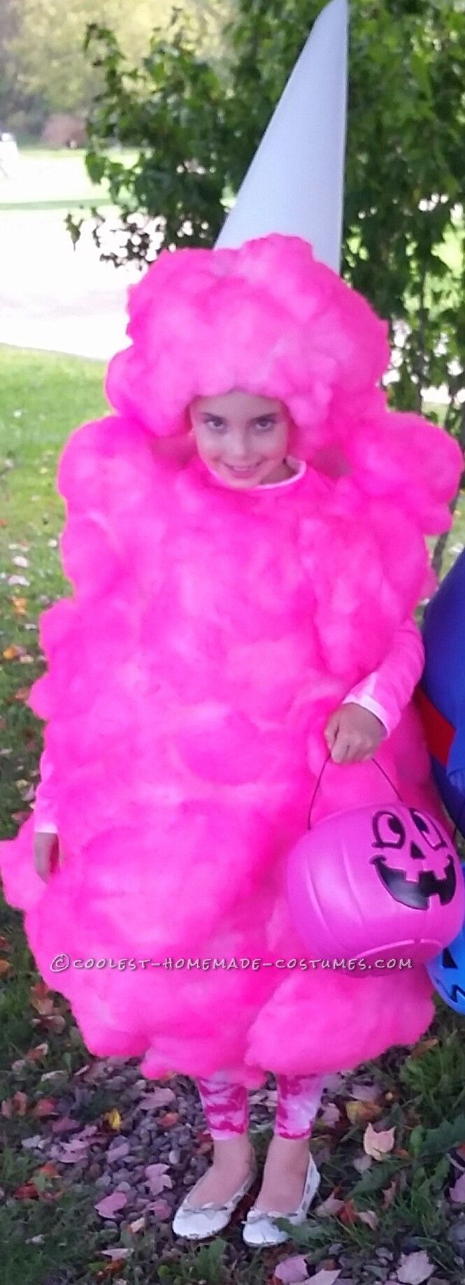 Cool Pink Cotton Candy Costume for a Girl... Coolest Halloween Costume Contest