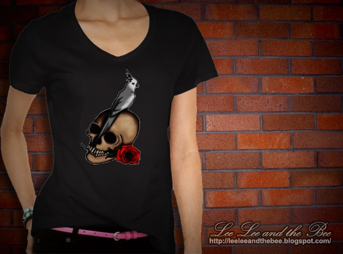 SOLD! 'Cockatiels Are Goth' t-shirt ---> http://www.zazzle.com/kasei_lee/gifts?cg=196422306841574035=238487232610359345