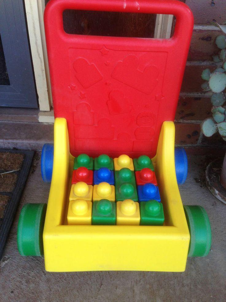 Lego Primo Block Trolley