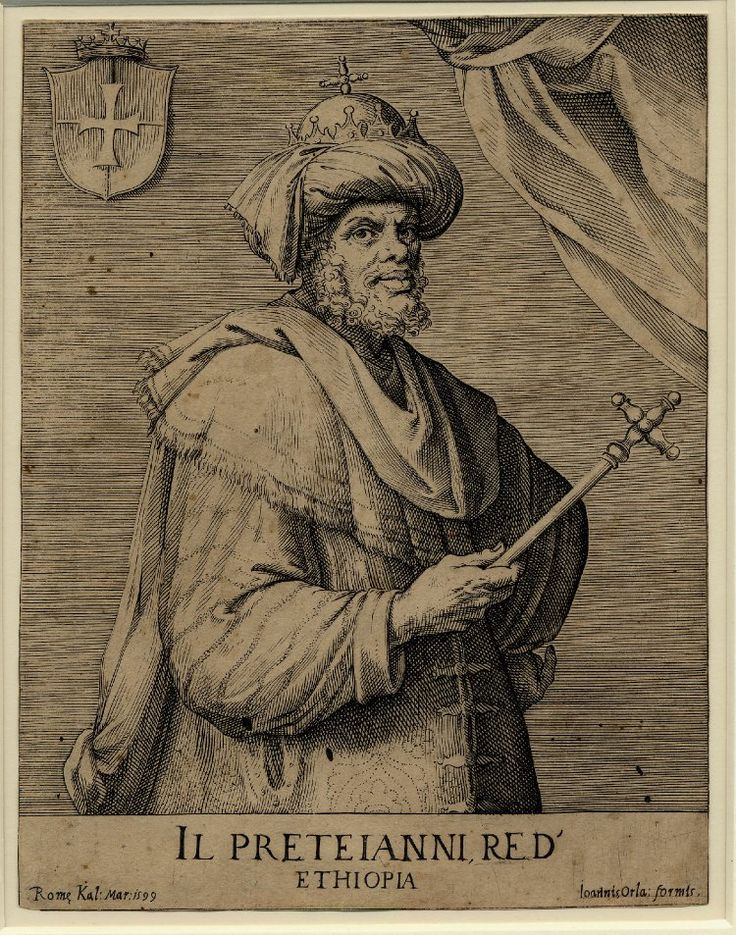 Prester John Il prete Ianni, Re d'Ethiopia. Priest John (Prester John) continued for centuries what still capture the imagination throughout Europe. Until the eighteenth century in Europe you find Heroic portraits of him.