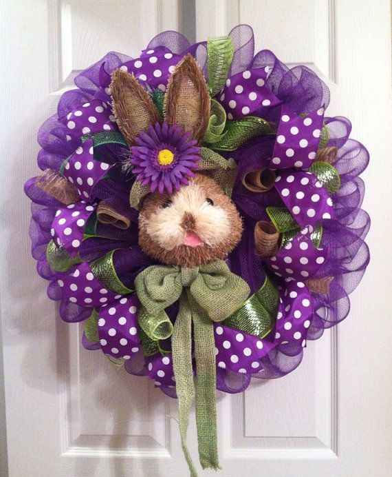 Hey, I found this really awesome Etsy listing at https://www.etsy.com/listing/226389149/easter-wreath-easter-bunny-wreath-spring